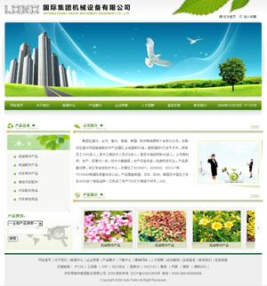 Web029-中英文企业网站模板